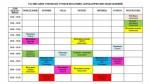 Учебный план аспирантуры. Расписание занятий