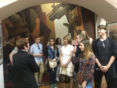 Выездное занятие в Центральном музее МВД России