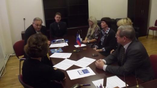 Встреча с представителями Балтийской Международной Академии